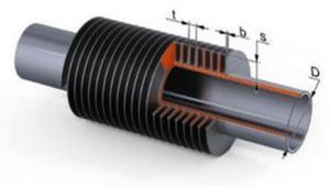 Трубка теплообменника. Котлы отопления в Тюмени