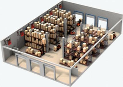 Водяное отопление склада