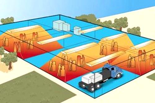 Преимущества газового инфракрасного отопления помещений