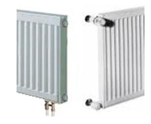 Панельные радиаторы бывают с боковым и с нижним подключением