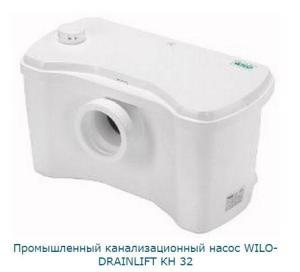 Промышленный канализационный насос WILO-DRAINLIFT KH 32