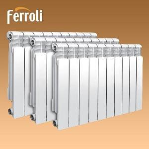 Радиаторы Ferroli Titano.5 - алюминий.